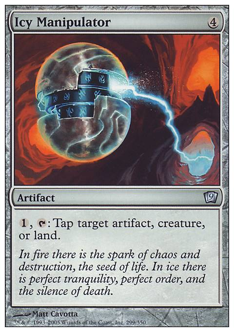 Icy Manipulator FOIL Deckmasters NM-M Artifact Uncommon MAGIC MTG CARD ABUGames
